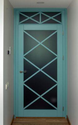 , Starptelpu durvis
